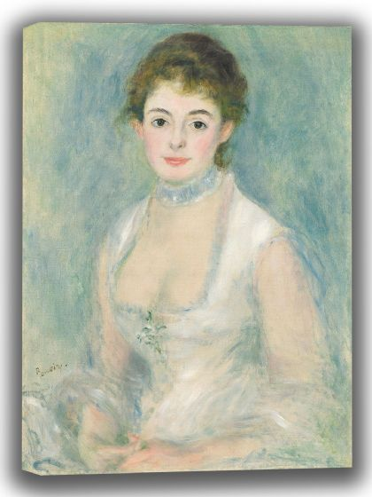 Renoir, Pierre Auguste: Madame Henriot. Fine Art Canvas. Sizes: A4/A3/A2/A1 (003985)